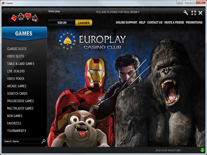 Europlay Casino Download